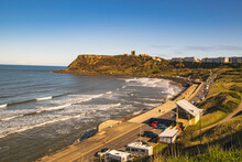SCARBOROUGH Original Seaside Resort A Popular Destination For A Holiday, Sweeping Sandy Beaches, Rugged Castle Ruins.