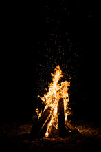 The Fire Dances In The Night