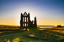 WHITBY ABBEY, A Centre Of The Medieval Northumbrian Kingdom