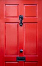 Ornate Iron Door Knocker