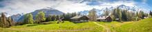 Paysage De Montagne Près De Chamonix Mont Blanc