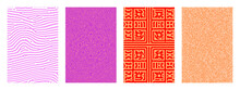 Vector Abstract Background Bio Diffusion. Geometric Organic Pattern