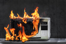 Microwave Oven Burns, House Fire Due To Improper Operation, Spontaneous Combustion Of Faulty Appliances