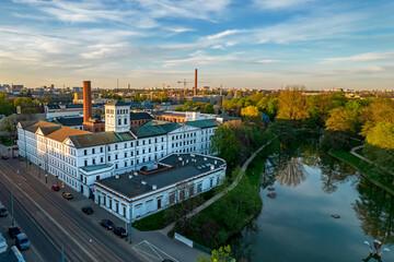 Biała Fabryka, Łódź, Polska.
