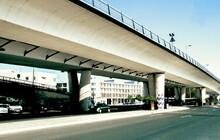 Autobahnbrücke In Lissabon