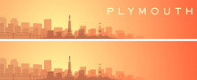 Plymouth Beautiful Skyline Scenery Banner