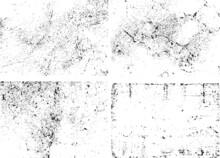 Set Grunge Background Texture