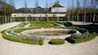 Gartenanlage am Pavillon frais im Park von Versailles