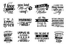 Dog Quotes Design Bundle, Dog Design Bundle