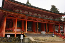 Amida-do At Daikodo Hall, Enryakuji Temple (Mount Hieizan) Toudou In Shiga Prefecture, Japan - 比叡山 延暦寺 東塔 阿弥陀堂