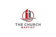 Christian Church Jesus Cross Gospel Logo Design Inspiration.