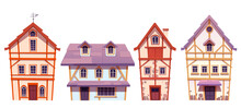 Old Half Timbered Houses German Village