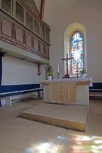 Altarraum Der Dorfkirche In Heuerssen In Schaumburg