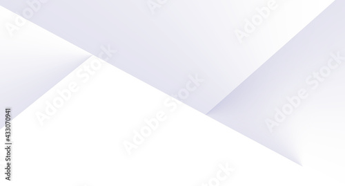 Foto white paper background, luxury, with geometric transparent gradient, you can use