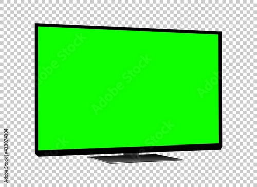 Photographie Realistic TV LCD screen mockup