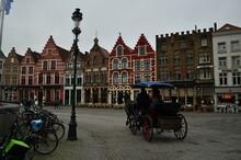 Horse Ride In Bruges