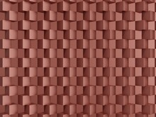 3D Background Red Rendering, Abstract Background 3d Rendering Abstract Cubic Shape.