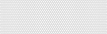 Hexagon Seamless Background Line Pattern.Honeycomb Background Pattern. Vector Isolated Texture. Comb Seamless Texture Design