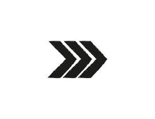 Arrow, Grunde Icon On White Background. Vector Illustration.