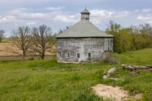 Old Wooden Round Barn