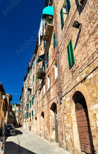 Naklejka premium Architecture of Siena in Italy