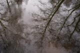 Fototapeta Łazienka - Odbicie w tafli wody