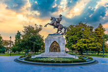 Statue Of Honor Or Atatürk Monument Is A Monument Situated In Samsun. Dedicated To The Landing Of Mustafa Kemal In Samsun For The Turkish War Of Independence.
