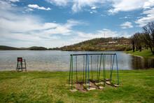 Bor Lake Artificial Lake In Eastern Serbia Near The City Of Bor