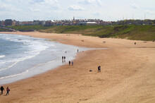 Tynemouth Long Sands Beach, May 2021