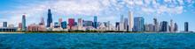City Of Chicago Skyline And The Lake Michigan,  Illinois, USA