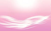 光の筋 背景はピンク アブストラクト