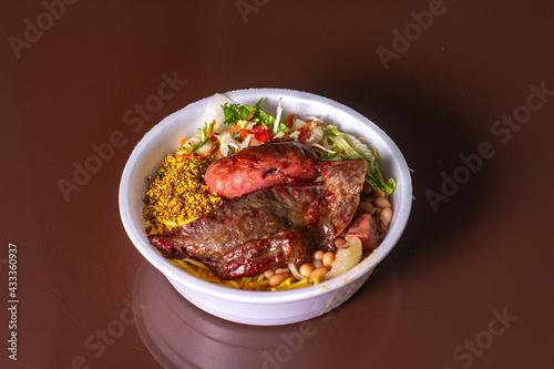 Fotografia, Obraz Prato Feito, PF brasileiro, comida tipica brasileira pra viagem
