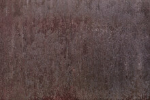 Rusted Metal Sheet For Background