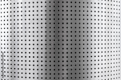 Fotografie, Obraz stainless steel perforated metal roll