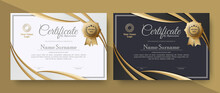 Appreciation Certificate Best Award Diploma Set
