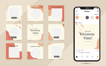 Creative Social Media Post Template Banner Fashion Sale Promotion And Fully Editable Instagram Square Post Frame Puzzle