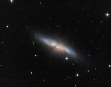 M 82 Cirgar Galaxy