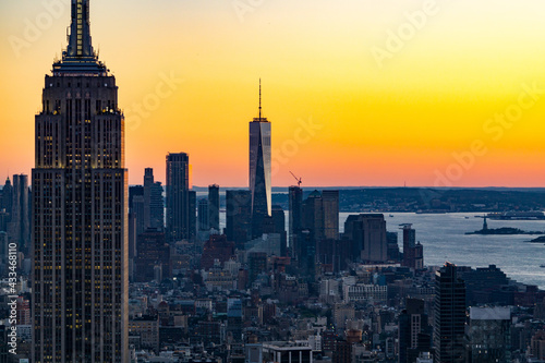 Empire State Building at Sunset Fototapet