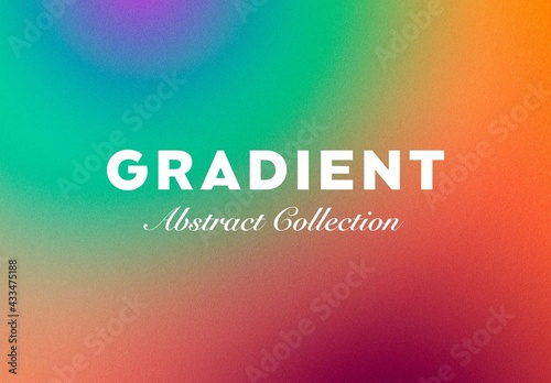 Fototapeta Abstract Retro Gradient Textures obraz
