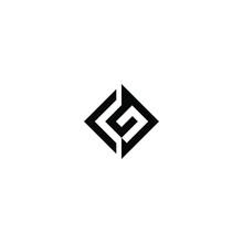 Cg Latter Vector Logo Abstrack Templete