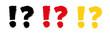 Znak zapytania, wykrzyknik