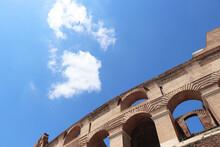 European Roman Rome City Ruin Photo