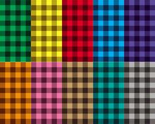 Checkered Seamless Patterns
