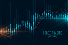 Forex Trading Stock Market Background