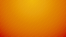 Orange Carbon Fiber Texture Background