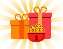 Gift, Gift Bag, Prize, Fun, Interesting, Plane, OK, Satisfied, Finished, Good, Fast, Dynamic, Stroke, Big Gift Bag, Bonus, Award,