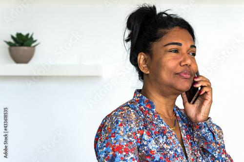 Fotografie, Obraz jeune femme mauricienne métisse