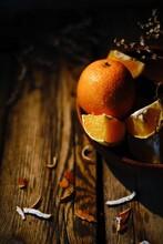 Still Life Of Whole Orange