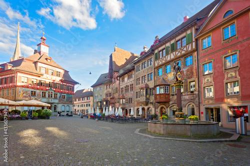 Wunderschönes Dorf Stein am Rhein, Schweiz