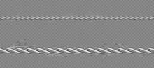 Metal Cable Steel Transparent